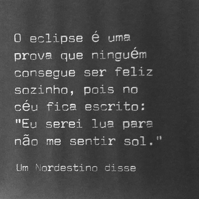 O eclipse é um prova que ninguém