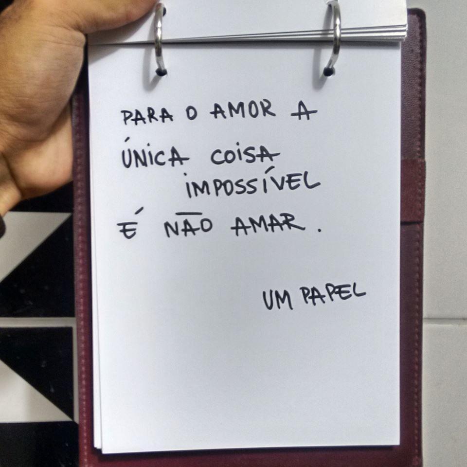 Impossível é não amar