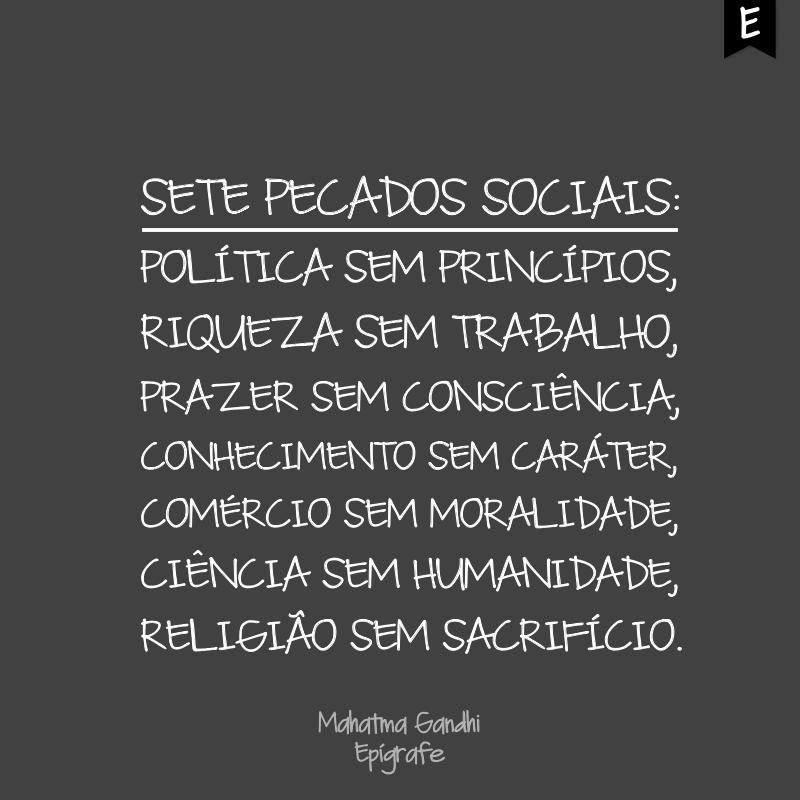 Sete pecados sociais