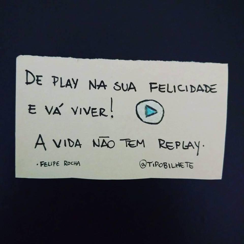 De play na sua felicidade