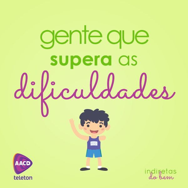 Supera as dificuldades