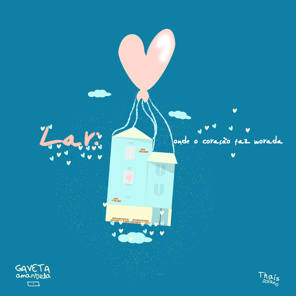 O coração faz morada