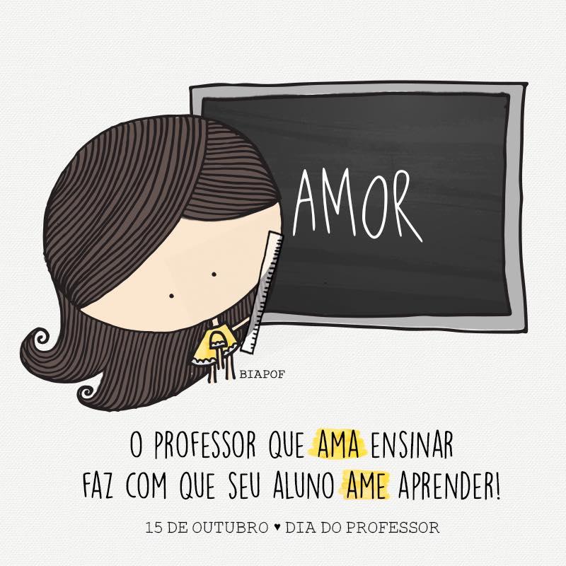O professor que ama ensinar