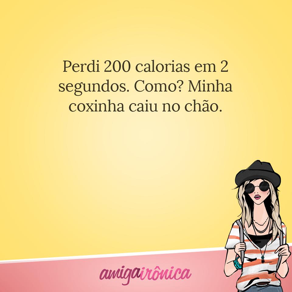 Perdi 200 calorias