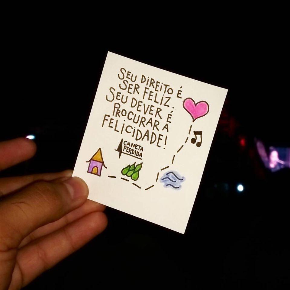 Seu direito é ser feliz