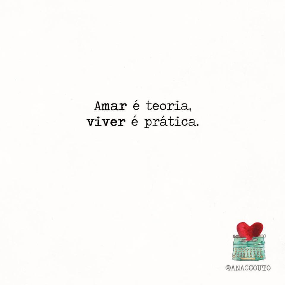 Amar é teoria