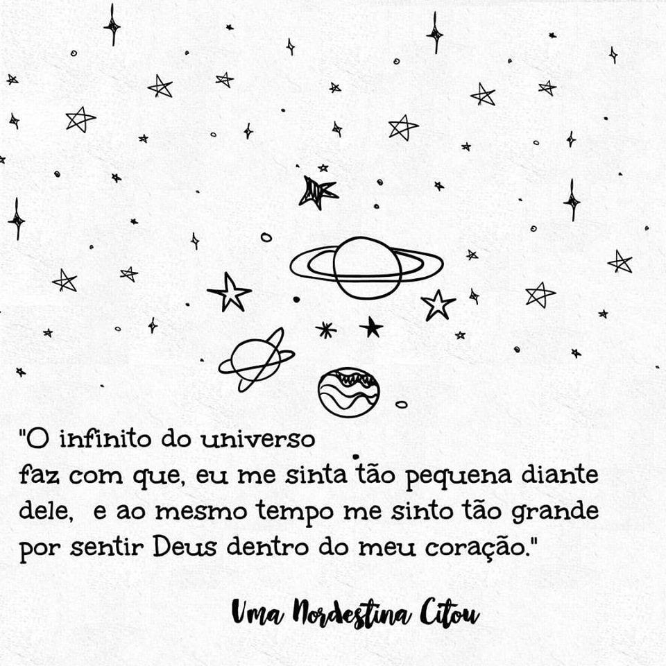 O infinito do universo