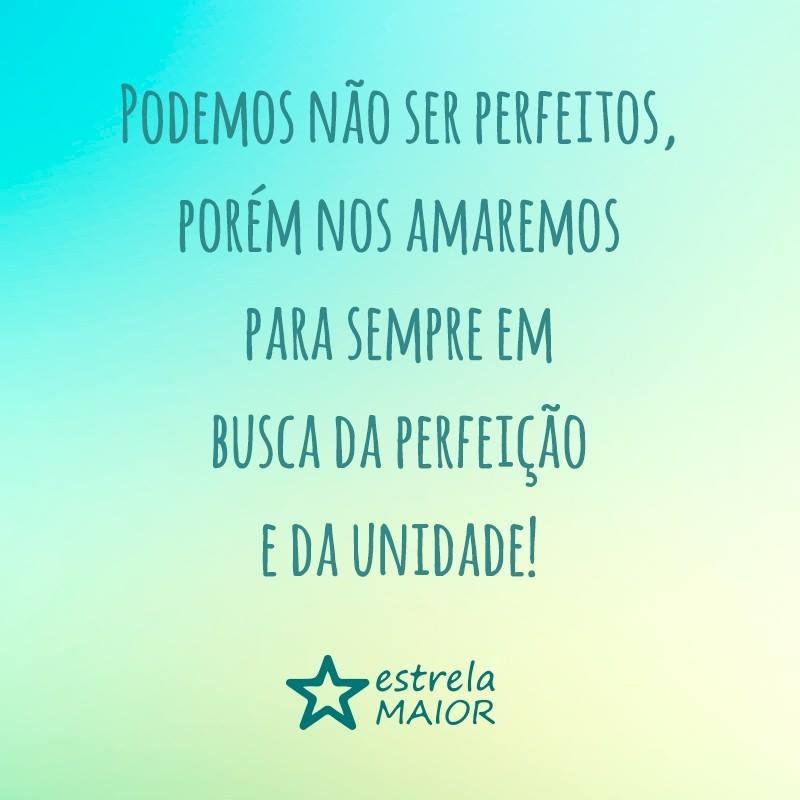 Podemos não ser perfeitos