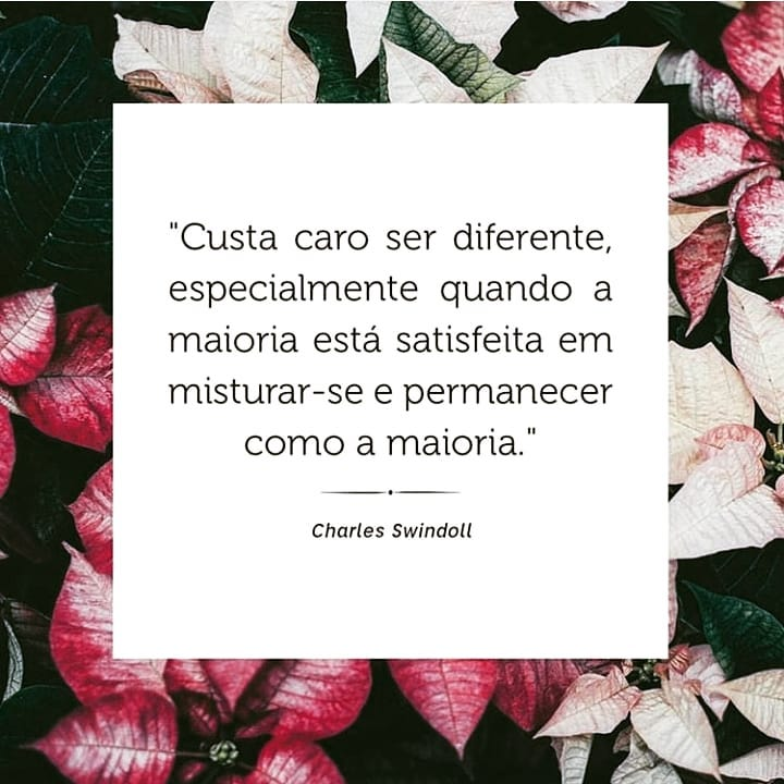 Custa caro ser diferente